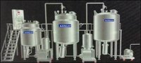 Automatic Oral Liquid Process Plant With Bottom Entry Stirrer