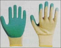 Latex Dipped Gloves Wrinkle Finish