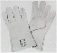 Split Welding Leather Gloves