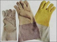 Welding Leather Gloves With Kevlar Lining