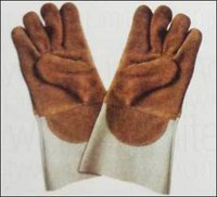 Heat Resistant Welding Leather Gloves