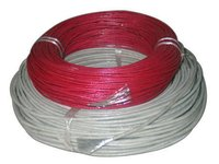Bare Copper Fiberglass Cable