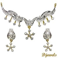 Cyd Diamond Mangalsutra Set