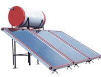 Solar Water Heater Flat Plate Collector System