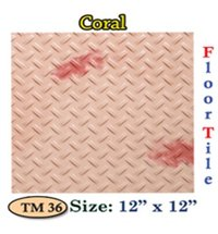Parking Tiles (Coral)