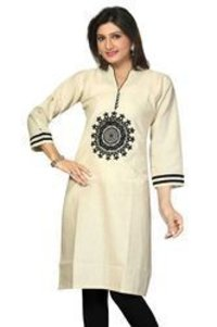 Trendy Cotton Printed Ladies Kurti