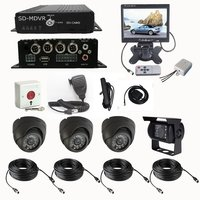 4 Channel 3G Real-Time Vehicle Surveillance Camera With GPS Tracking Kit