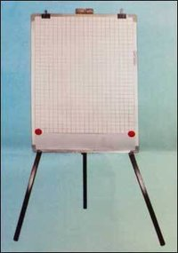 Flip Chart Board With Folding Tripod Stand