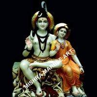 Kailash Shiv Parvati Ji Statue