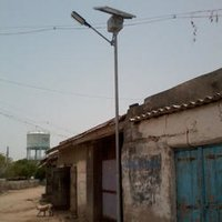 Industrial Solar Powered Light