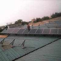 Commercial Roof Top Solar Panels