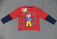 Kids Printed Full Sleeve T-Shirt