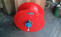 Spring Operated Cable Reeling Drum