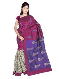 Bhagalpuri Cotton Designer Saree