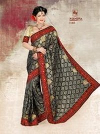 Designer Synthetic Sarees