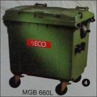 Plastic Waste Dustbin (Model No. MGB 660L)