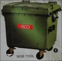 Plastic Waste Dustbin (Model No. MGB 1100L)