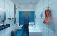 Colored Bathroom Wall Tiles