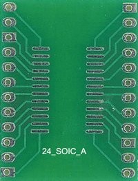 Electronic Header Board (24 Soic A)