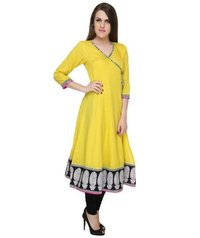 Ladies Yellow Kurta