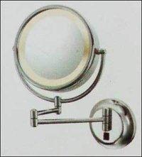 Shaving Magnifying Mirror Yellow Light