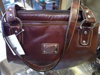 Leather Fancy Ladies Hand Bag