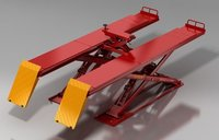 Stable Hydraulic Scissor Lift 4000Kgs With Alignment Function