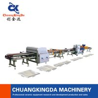 Automatic Dry Type Tiles Cutting Machine Production Line