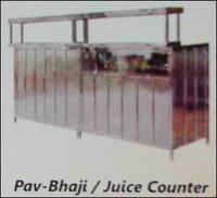 Pav Bhaji And Juice Counter
