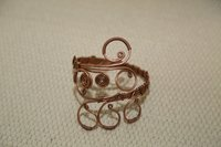 Copper Wire Armlet