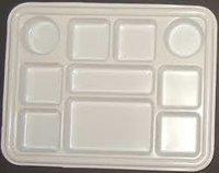 Acrylic Multi Compartment 10 Box Partition Plate