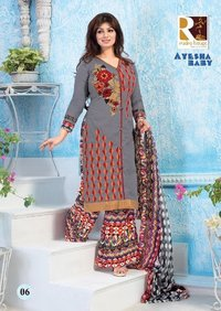 Ayesha Cotton Ladies Salwear Kameez Suits