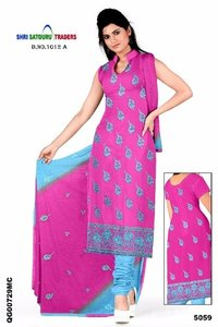 Chanderi Heavy Embroidery Suits