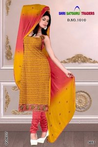 Pure Banarasi Chanderi Heavy Embroidery Long Ladies Suits