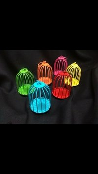 Multi Colored Animal Or Bird Cages
