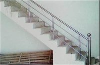 Attractive Stairs Stainless Steel Grill