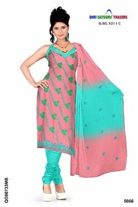 Exclusive Cambric Cotton Embroidery Ladies Long Suits