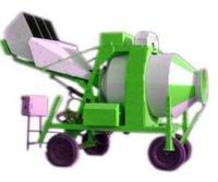 Mini Reversible Mobile Concrete Mixer