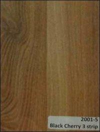 Laminate Wooden Flooring (Black Cherry 3 Strip)