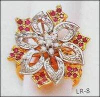 Flower Diamond Rings (Ladies)