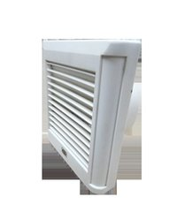 Exhaust Fan With Front Safety Louvers