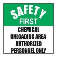 Safety First Sign Board