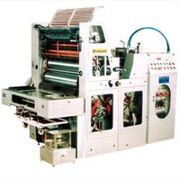Single Colour Sheetfed Offset Printing Machine