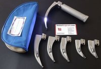 Laryngoscope Kit Adult Stainless Steel with 6 Mac Blades