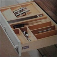 Wooden Cutlery Tray For Drawer