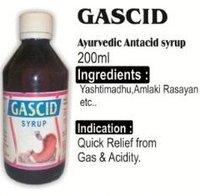 Gascid Ayurvedic Antacid Syrup