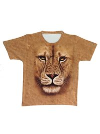 Round Neck Digital Printed T-Shirt