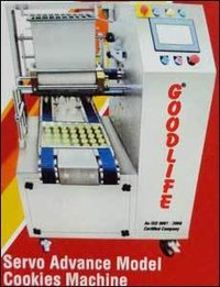 Servo Advance Model Cookies Machine