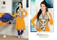 Rang Resham Cotton Printed Salwar Suit