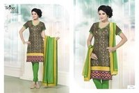 Cotton Chanderi Suits